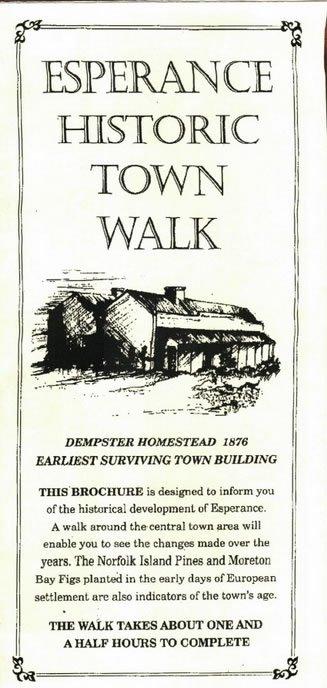 Esperance Historic Town Walk