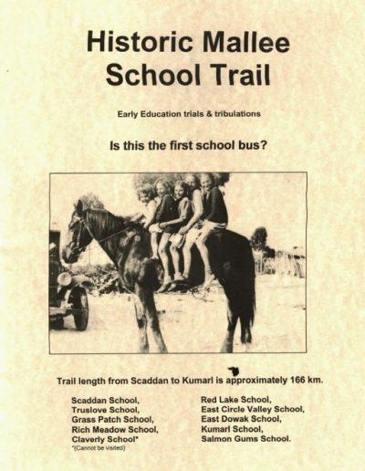 Historic Mallee School Trail