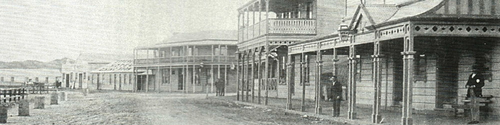 1898 Edward St (Later the Esplanade)