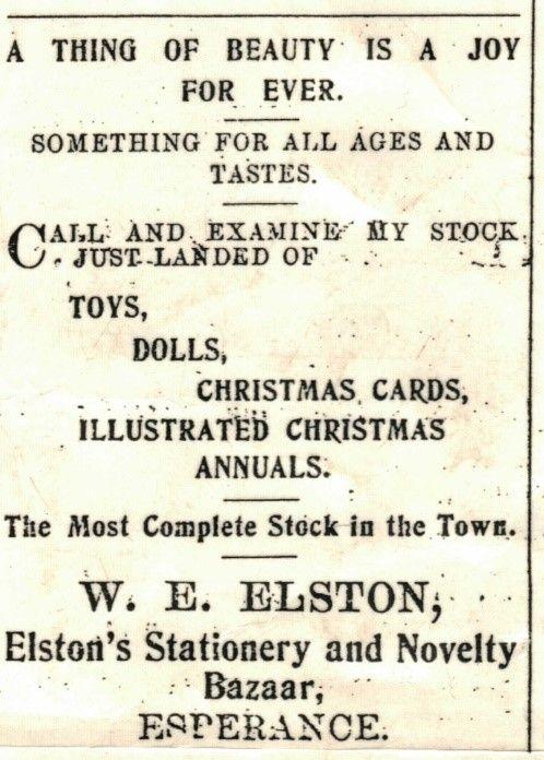 WE Elston
