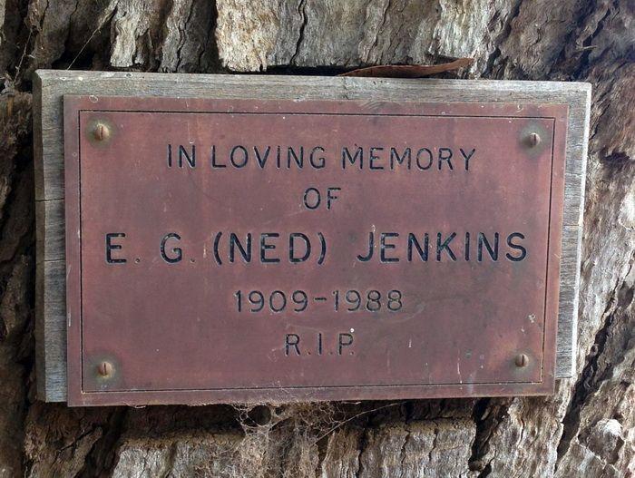 E.G (NED) Jenkins RIP