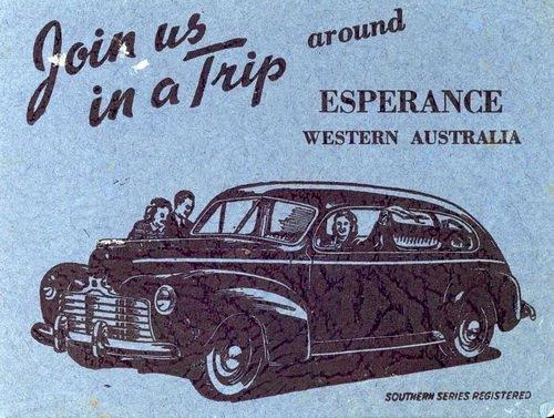 Esperance Trip Advertisement