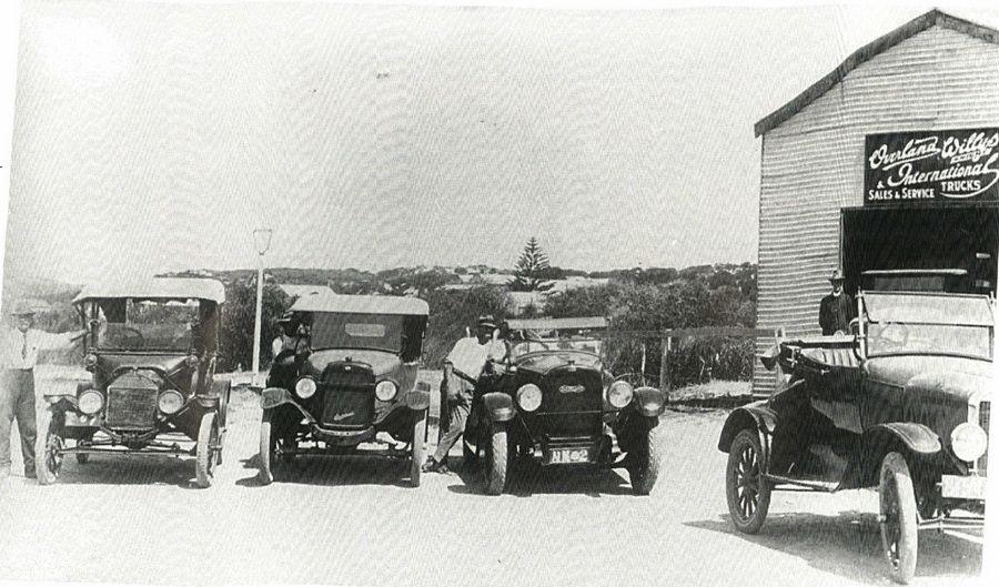 C.A Sandell-Willys Garage