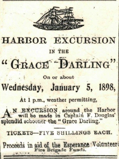 The Grace Darling Advert-ship