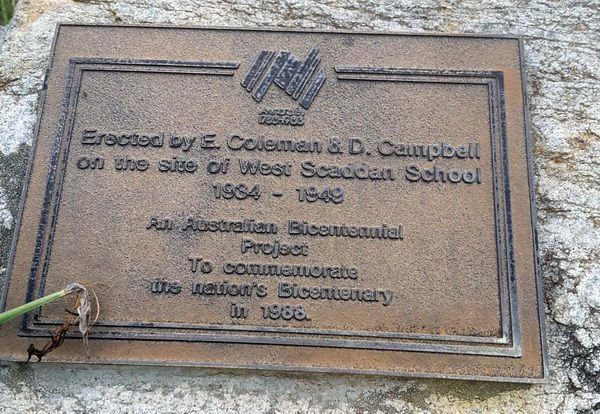 west_scadden_school_plaque
